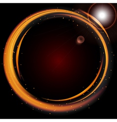 Abstract background-Ring of Fire vector image