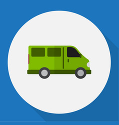 Automobile symbol on lorry vector