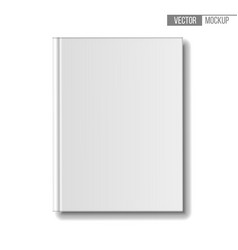 blank book mockup top view template books on vector image
