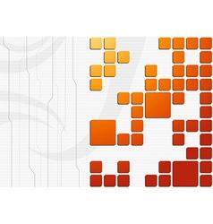 Construction background template - blocks vector