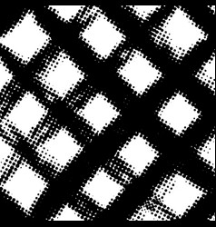distress halftone background vector image