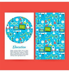 Education Banner Template vector