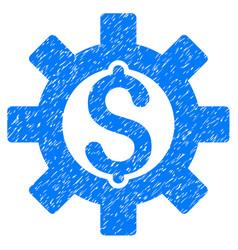 Financial development icon grunge watermark vector