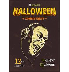 Halloween Poster 6 vector image