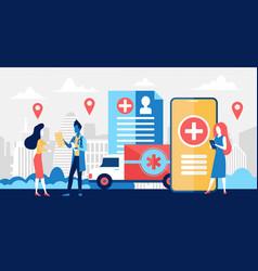 Online pharmacy business medicine drug store vector