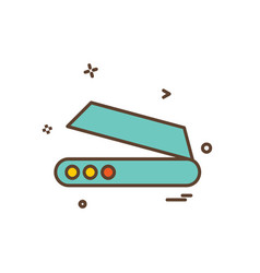 scanner icon design vector image