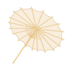 traditional japanese or chinese umbrella vector image