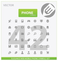 Web and phone universal outline icons vector image