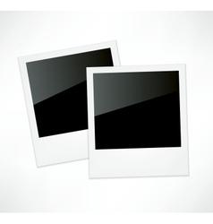 Polaroid photo frame vector image