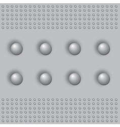 steel pattern vector image