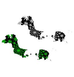 bangka belitung islands subdivisions indonesia vector image