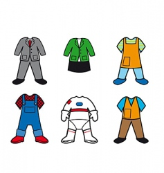 career costumes vector image