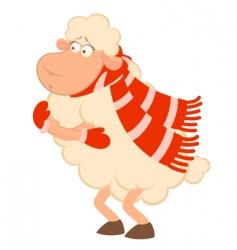 Cold lamb vector