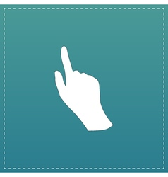 Cursor hand icon vector