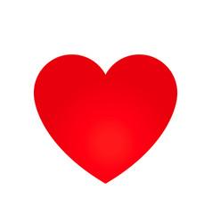Heart shape symbol vector