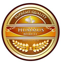 Hummus beiruti vector