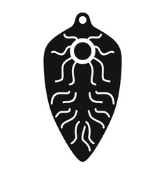 Intestinal parasite icon simple style vector