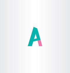 letter p and a logo combination vector image