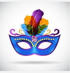 Masquerade Carnival Mask Icon vector