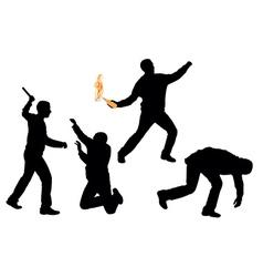 Riots vector