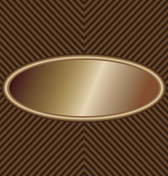 oval-label vector image vector image