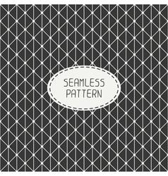 seamless retro vintage geometric pattern vector image vector image