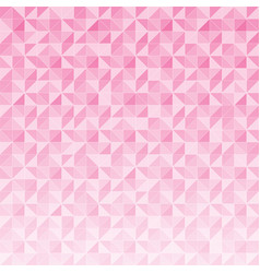 abstract geometric triangle pattern mosaic on vector image
