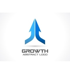 Abstract logo for business company Technology vector image vector image