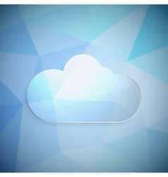 Clouds frame vector image