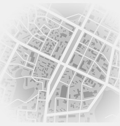 abstract city map print with town topography city vector image