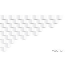 abstract geometric background 3d square paper vector image
