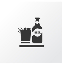 beverage icon symbol premium quality isolated vector image