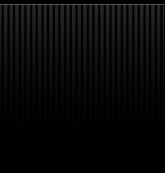black lighting background with vertical stripes vector image