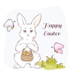 Happy Easter set vector