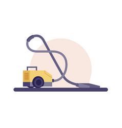 Modern vacuum cleaner vector