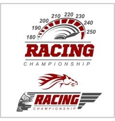 Racing Championship logo vector