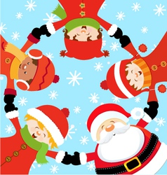 Santa Christmas Party vector image vector image