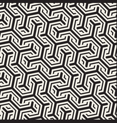 Seamless interlacing lines pattern vector