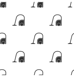 Seamless vacuum cleaner pattern vector