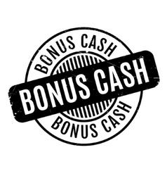 Bonus cash rubber stamp vector