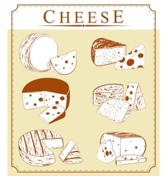 clipart collection of cheese vector image vector image
