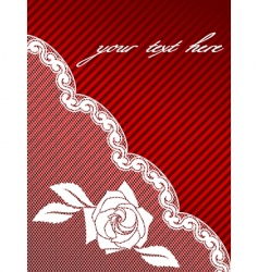 French lace background vector image vector image