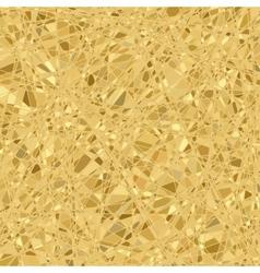 Gold mosaic background EPS 8 vector image