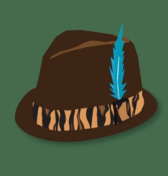 hunting hat vector image