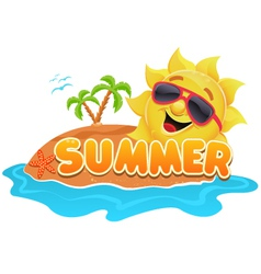 Summer Theme vector image vector image