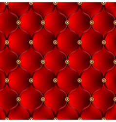red upholstery background vector image
