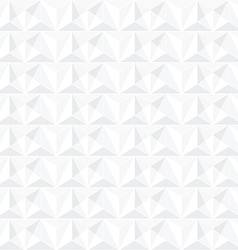 Abstract geometric white background - seamless vector