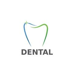 dental design template vector image