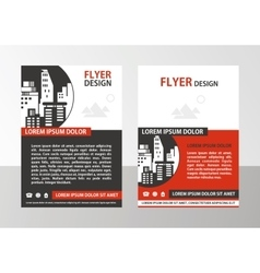 Flyer vector image