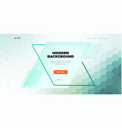 Geometric abstract gradient background design vector